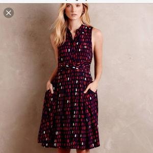 Anthropologie Brynn Shirt Dress